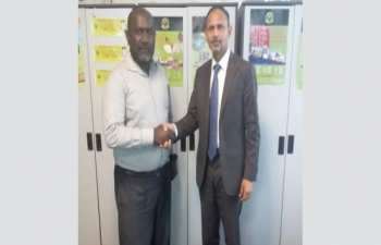 High Commissioner met with PNG Chief Commissioner of Customs Mr. Ray Paul  on 30 August 2018