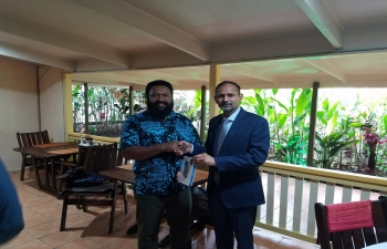 High Commissioner met with Governor of Eastern Highlands Hon.Peter Numu, on  04 Aug 2018