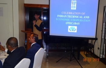 Celebration of Indian Technical and Economic Cooperation (ITEC) Day at Port Moresby - 06 March 2019.