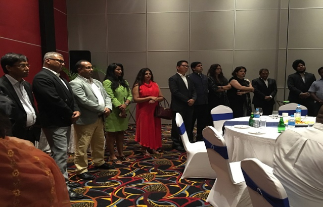 Members of the Visiting CII Delegation to  Port Moresby
